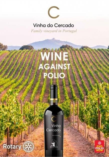 Wine against polio