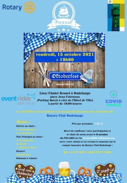Oktoberfest by Rotary Club Dudelange